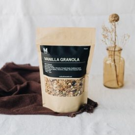 vanilla granola motion fitness food